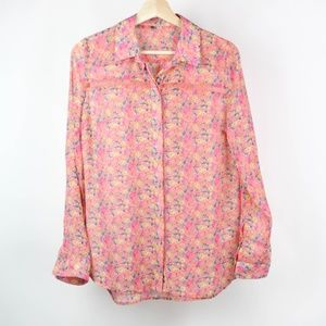 Kut From The Kloth Blouse Floral Button Front